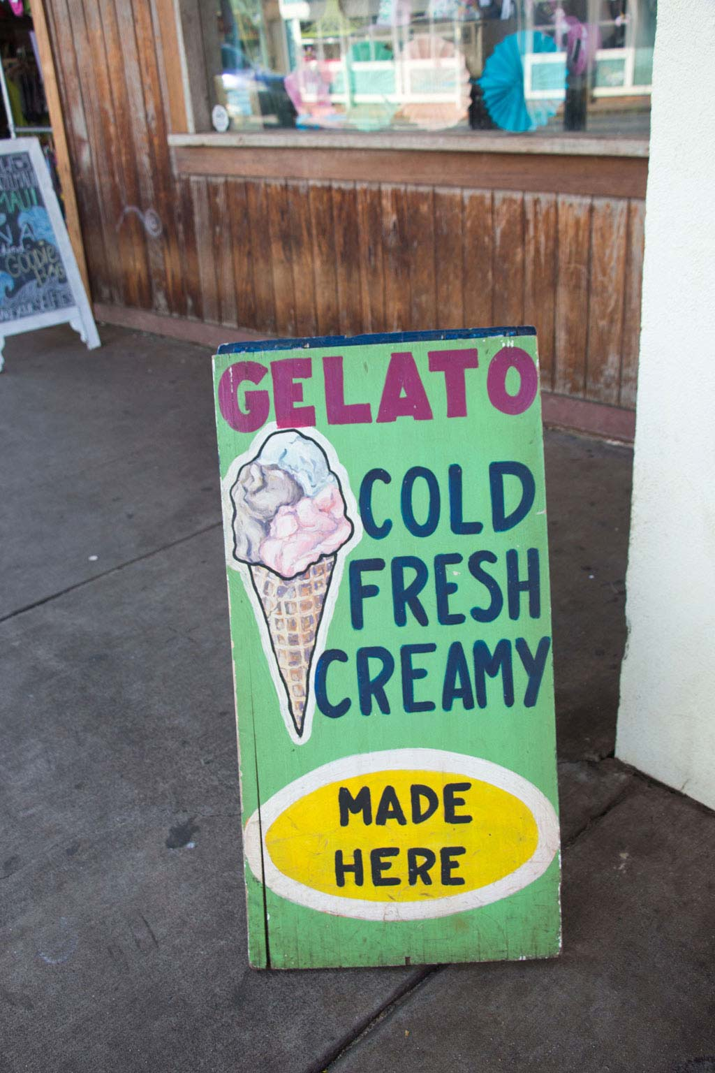 Maui Hawaii – Paia Gelato Eiscreme | SOMEWHERE ELSE